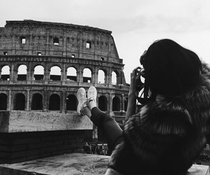 kendall jenner, rome, and travel image