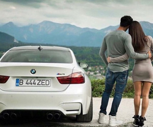 bmw, couple, and love image