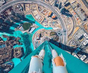 city, Dubai, and blue image