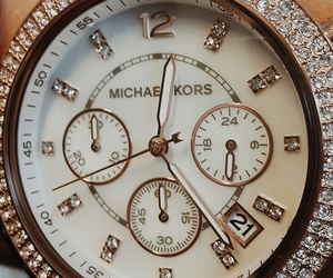 Michael Kors, watch, and rose gold image