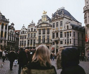 city, travel, and brussels image