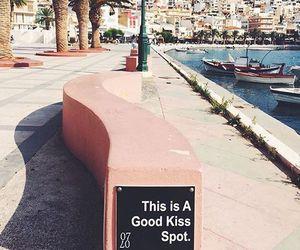 kiss, summer, and travel image