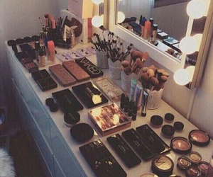 beauty, mac, and urban decay image