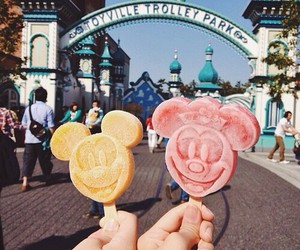 disney, ice cream, and food image