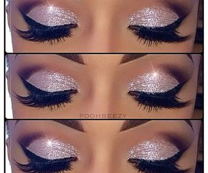 beauty, eye shadow, and makeup image