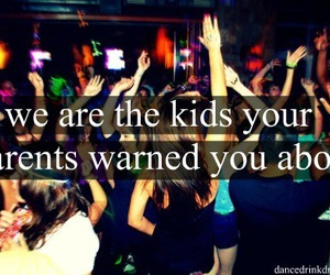 party, teenager, and kids image