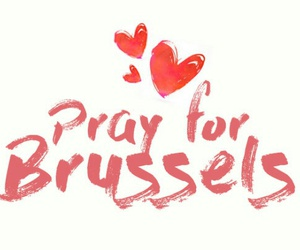 brussels, pray, and peace image