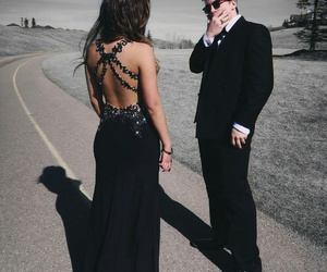 black, goals, and Prom image