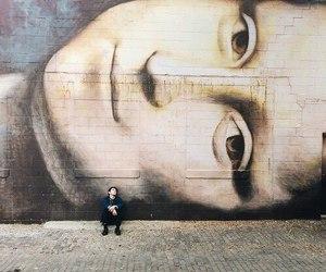 art, mona lisa, and street image