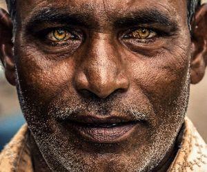 eyes, man, and photography image