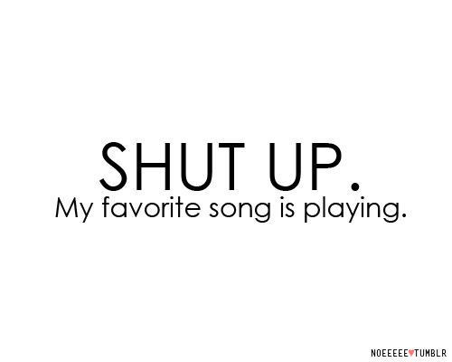 cute, funny, haha, music, quote - inspiring picture on Favim.com