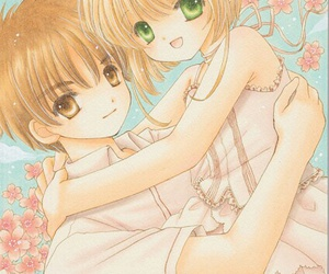 anime girl, sakura kinomoto, and kawaii image