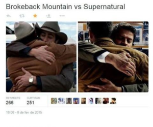 supernatural, dean winchester, and castiel image