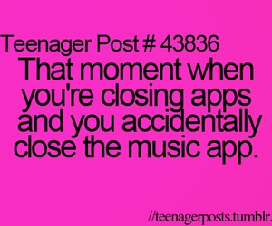 music, post, and teenager image