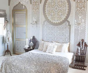 bedroom, arabic, and room image