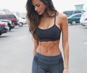 fitness, body, and abs image