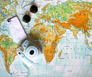 fujifilm, iphone, and map image