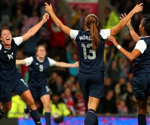 team and alex morgan image