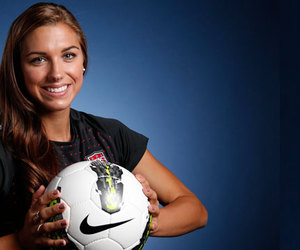 nike, soccer, and alex morgan image