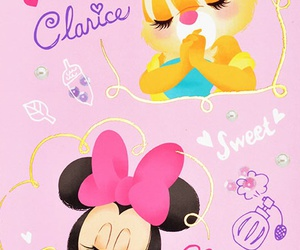 minnie mouse and clarice image