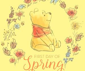 winnie the pooh and spring image