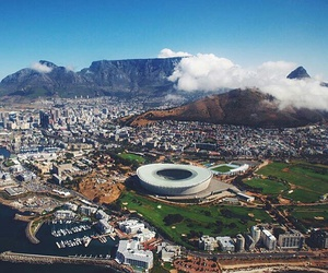 beauty, cape town, and clouds image