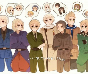 anime, hetalia, and romano image