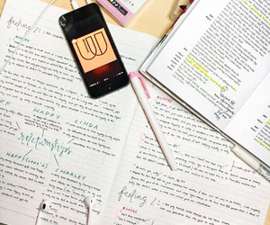 college, motivation, and notes image