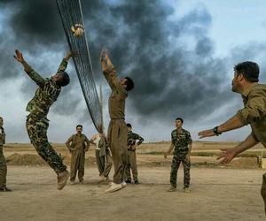 volleyball, kurd, and kurdi image