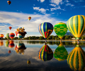 balloons, photography, and sky image