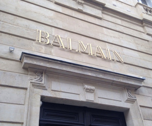 Balmain, luxury, and store image
