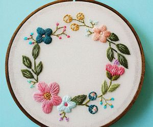embroidery, aesthetics, and art image