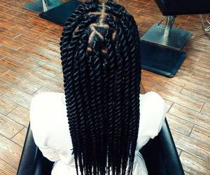 twists, african american woman, and black woman image