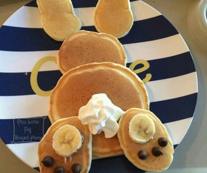 pancakes, food, and yum image