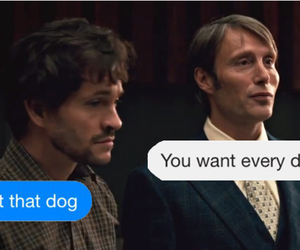 dog, funny, and hugh dancy image