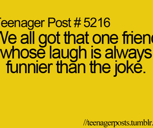 funny, friends, and teenager post image