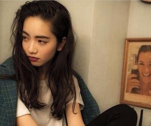 model, asian, and nana komatsu image