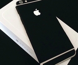 iphone, iphone6, and blackiphone image