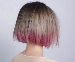 aesthetic, blonde, and bob image