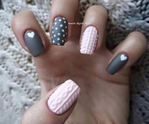 girl, manicure, and nice image