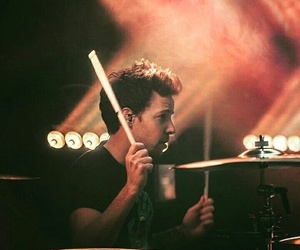 band, drums, and pierre bouvier image