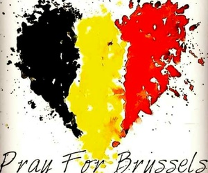 brussels, pray for brussels, and belgium image