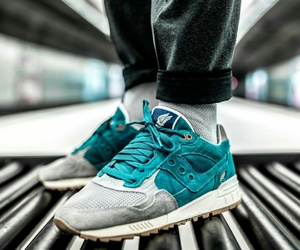 shoes, sneakers, and saucony image