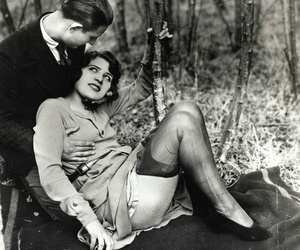 vintage, pantyhose, and love image