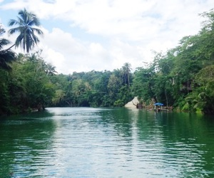 nature, Philippines, and river image