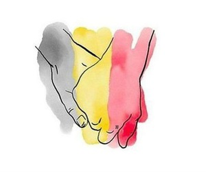 brussels, belgium, and pray image
