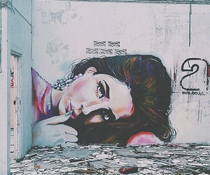 art, lana del rey, and wall image
