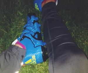 adidas, blue, and nice image