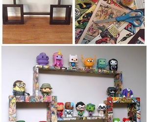 comic, geek, and decoration image