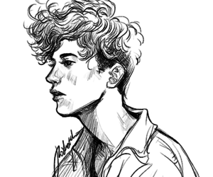 drawing, art, and troye sivan image